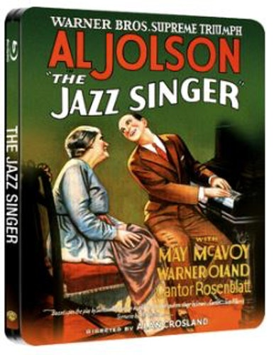 The Jazz Singer Steelbook Blu-Ray (import) från 1927