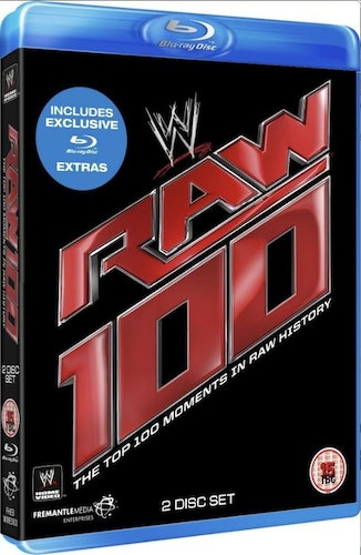 WWE - Top 100 Raw Moments Blu-Ray (import)