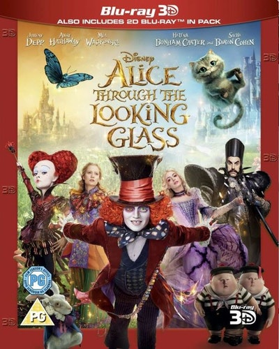 Alice i spegellandet 3D Bluray (import med svensk text)