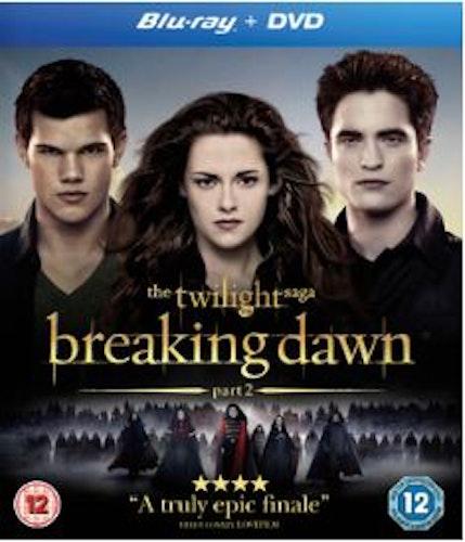 The Twilight Saga: Breaking Dawn Part 2 bluray (import)