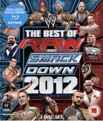 WWE - The Best Of Raw And Smackdown 2012 bluray (import)