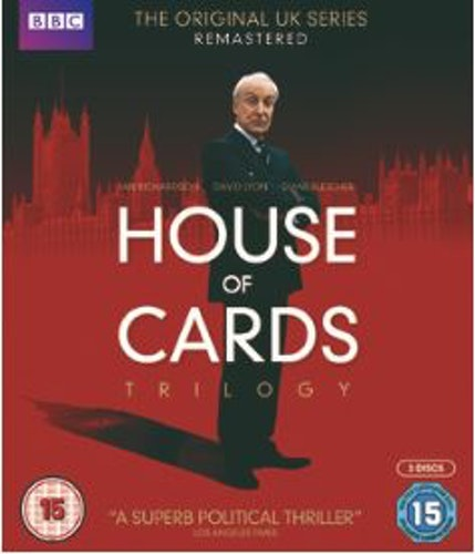 House Of Cards (Original) Series 1-3 Complete Collection 1990-1995 Blu-Ray (import)