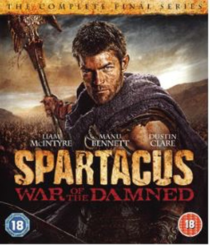 Spartacus: War of the Damned - Season 3 bluray (import)