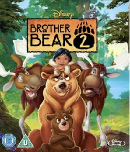 Disneys Björnbröder 2 bluray (import)