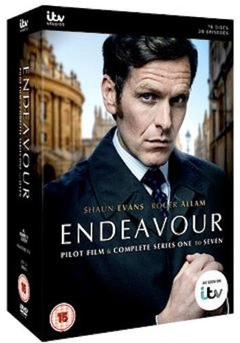 Endeavour/Unge kommissarie Morse Säsong 1-7 DVD (import)