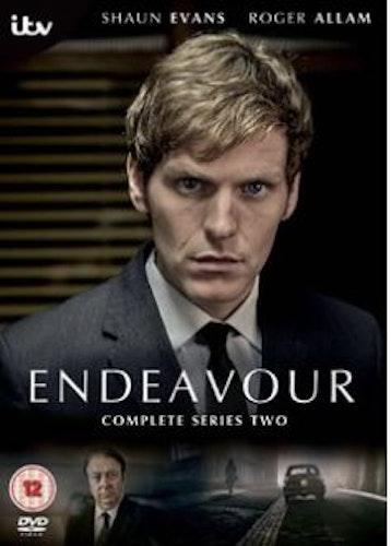 Endeavour/Unge kommissarie Morse Säsong 2 DVD (import)