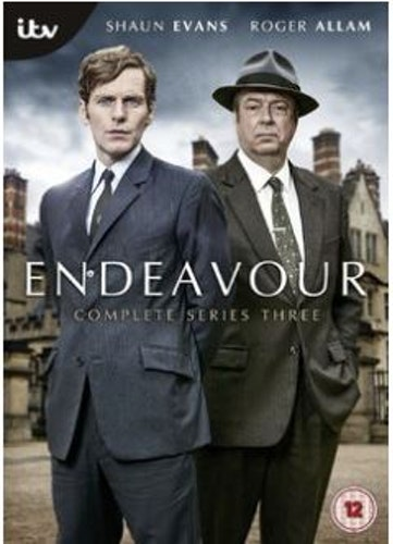 Endeavour/Unge kommissarie Morse Säsong 3 DVD (import)