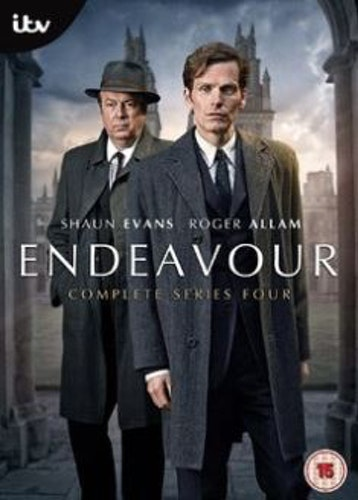 Endeavour/Unge kommissarie Morse Säsong 4 DVD (import)