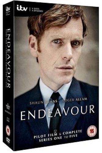 Endeavour/Unge kommissarie Morse Säsong 1-5 DVD (import)