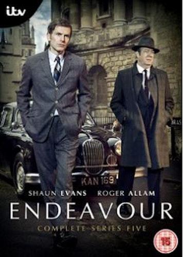 Endeavour/Unge kommissarie Morse Säsong 5 DVD (import)