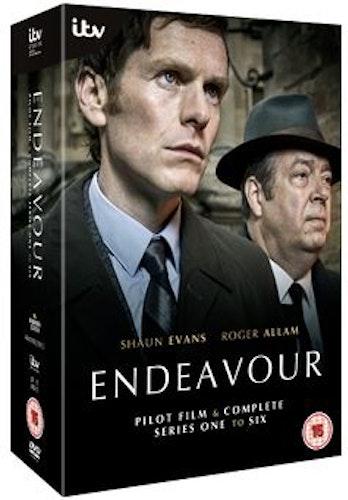 Endeavour/Unge kommissarie Morse Säsong 1-6 DVD (import)