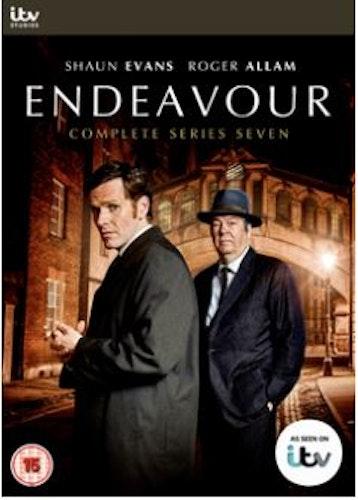 Endeavour/Unge kommissarie Morse Säsong 7 DVD (import)