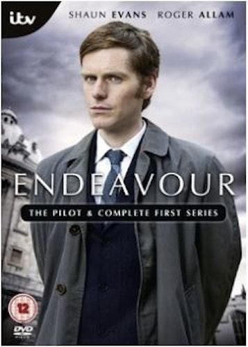 Endeavour/Unge kommissarie Morse Säsong 1 DVD (import)