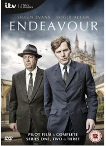 Endeavour/Unge kommissarie Morse Säsong 1-3 DVD (import)