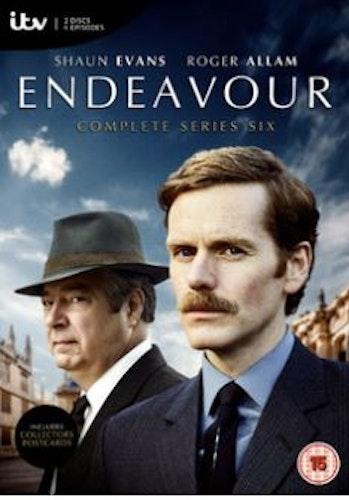 Endeavour/Unge kommissarie Morse Säsong 6 DVD (import)