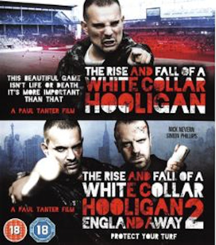 The Rise & Fall of a White Collar Hooligan 1+2 (Blu-ray) import