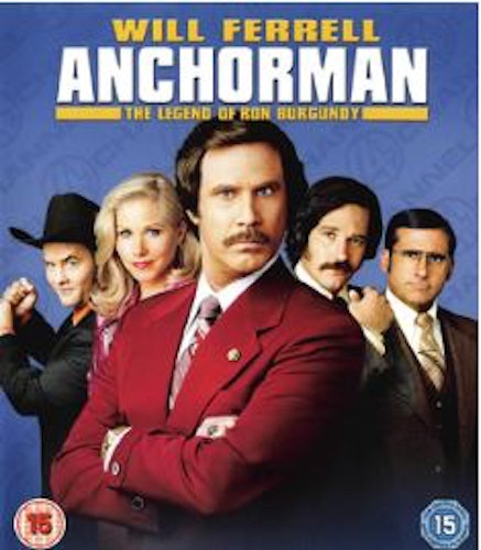 Anchorman: The Legend Of Ron Burgundy (Blu-ray) import