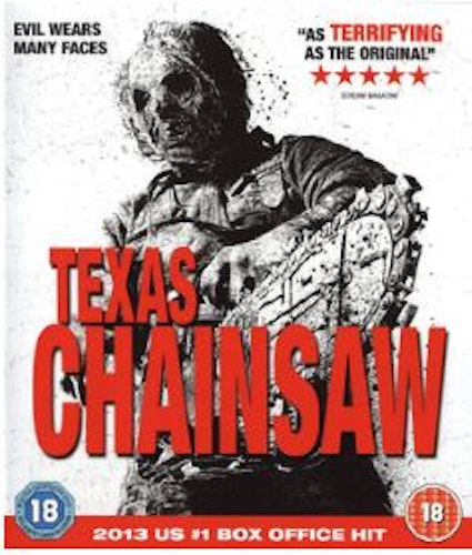 Texas Chainsaw (2013) Blu-Ray (import)