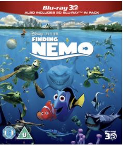 Disney Pixar Klassiker 05 - Hitta Nemo (3D Blu-ray + Blu-ray) import