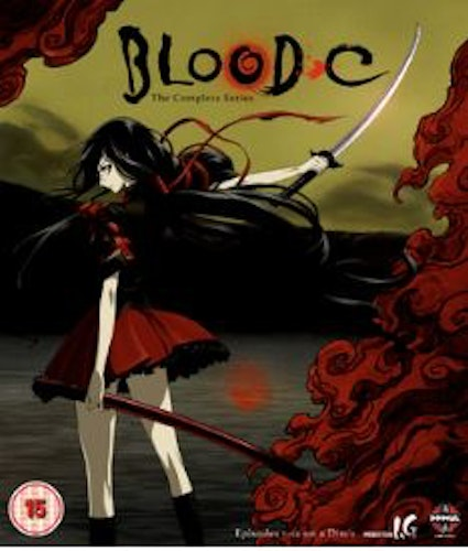 Blood C - The Complete Series Blu-Ray (import)