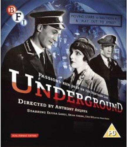 Underground (Blu-ray+DVD) från 1928
