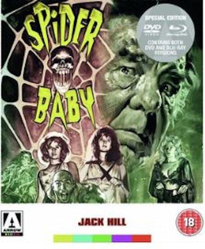 Spider baby (Blu-ray+DVD) (Import) från 1968
