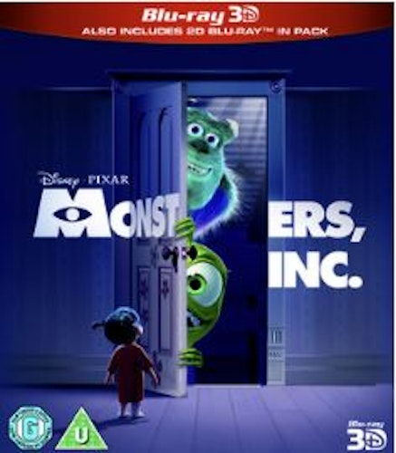 Monsters, Inc. (3D) bluray (import)