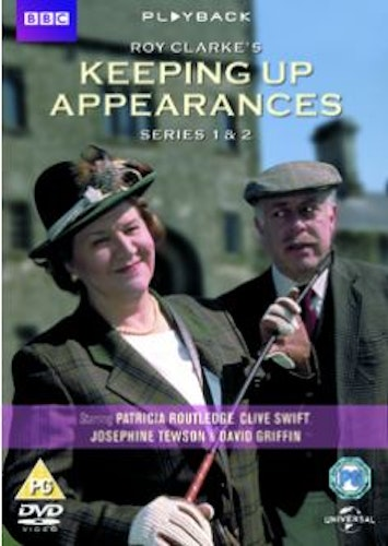 Keeping up appearances/Skenet bedrar - Säsong 1 & 2 Box (3-disc) DVD (Import)