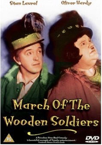 Helan & Halvan - Träsoldaternas Marsch - Det var två glada gesäller/March Of The Wooden Soldiers DVD