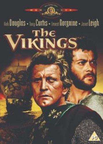 The Vikings DVD (Import Sv.Text) från 1958