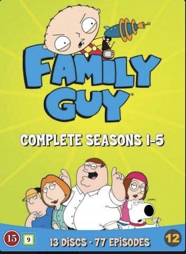 Family Guy - Säsong 1-5 DVD (5-disc)