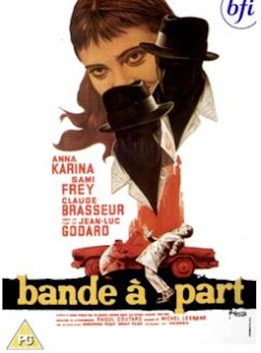 En rövarhistoria/Bande A Part DVD (import) från 1964