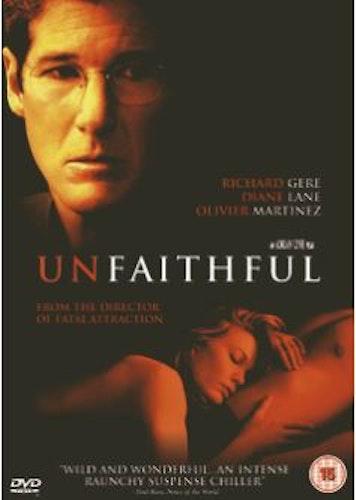 Unfaithful DVD (Import Sv.Text)