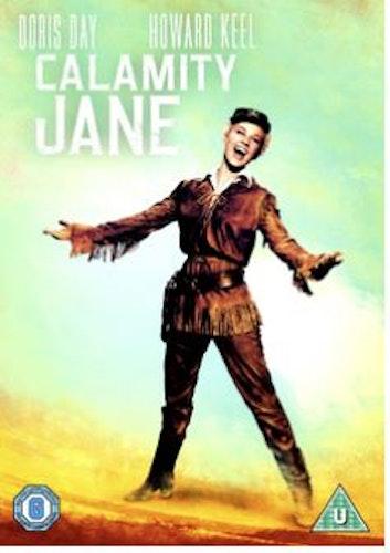 Västerns vilda dotter/Calamity Jane (Import) DVD från 1953