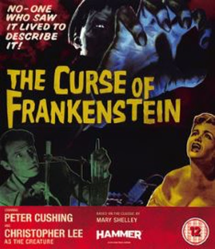The Curse of Frankenstein (Blu-ray + DVD) (Import)