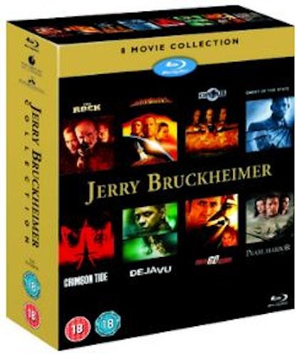 Jerry Bruckheimer Collection (8 filmer) Blu-ray (import med svensk text)