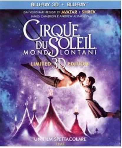 Cirque Du Soleil - Worlds Away 3D Blu-Ray (import med svensk text)