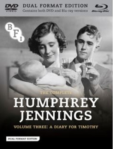 The Complete Humphrey Jennings - Volume 3 - A Diary For Timothy Blu-Ray + DVD (import) från 1945