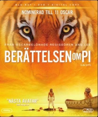 Berättelsen om Pi (Blu-ray)
