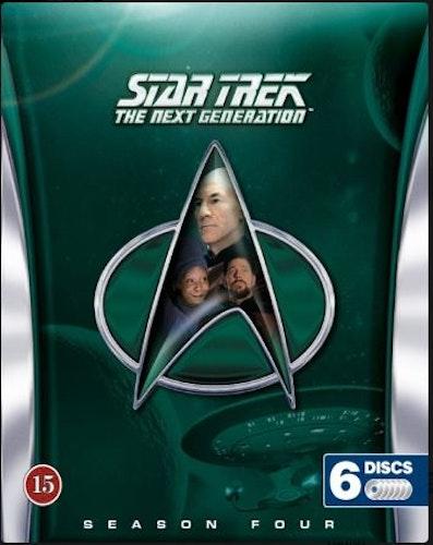 Star Trek: The Next Generation - Säsong 4 (Blu-ray) (6-disc)