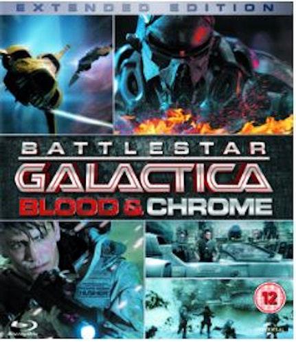 Battlestar Galactica: Blood & Chrome (Blu-ray) import