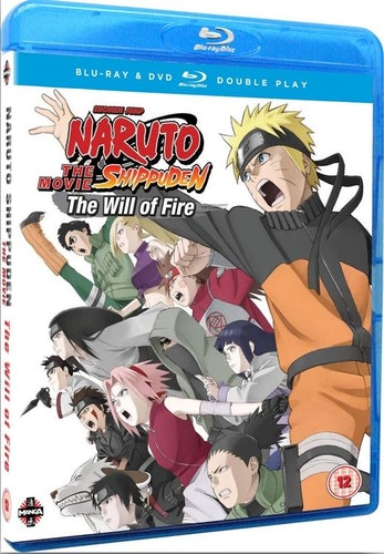 Naruto Shippuden Movie - The Will Of Fire - Limited Edition Blu-Ray+DVD (import)