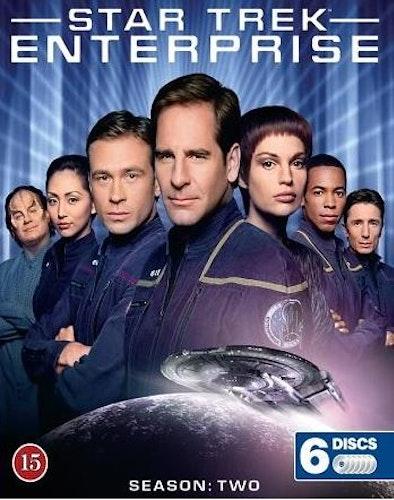 Star Trek: Enterprise - Säsong 2 (Blu-ray) (6-disc)