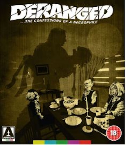 Deranged - The Confessions Of A Necrophile (Blu-ray+DVD) (Import) från 1974