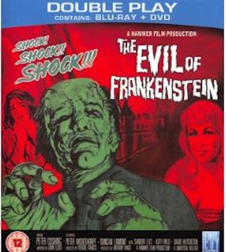 Evil Of Frankenstein (Blu-ray + DVD) (Import) från 1964