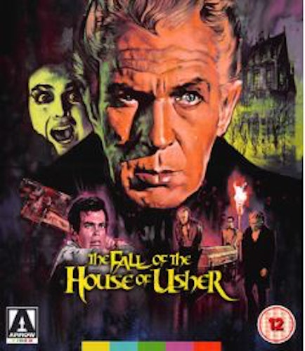 Fall of the house of Usher (Blu-ray) (Import)