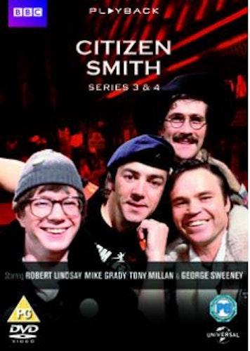 Citizen Smith Säsong 3+4 DVD (import)