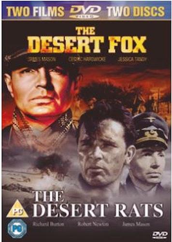 The Desert Fox+The Desert Rats DVD (import)