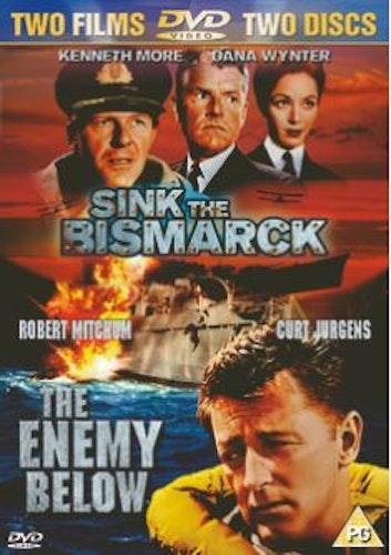 Sink The Bismarck / The Enemy Below DVD (import)