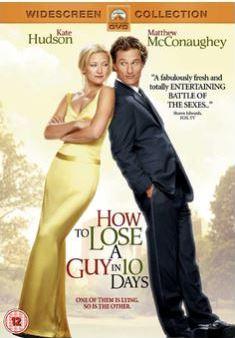 Hur man blir av med en kille på 10 dagar/How To Lose A Guy In 10 Days DVD (import med svensk text)